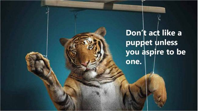 Dontbeapuppet