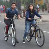 Cycling at Happy Streets