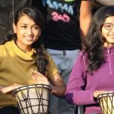 Drum Circle at Happy Streets