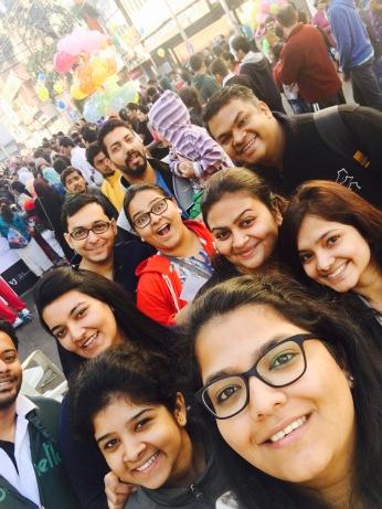Setu Digital team and Vilas Javdekar team at Happy Streets