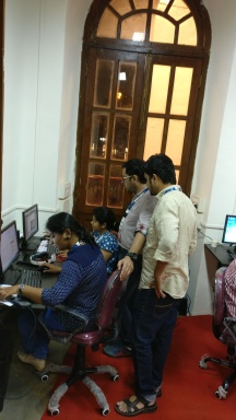 Setu Digital Team at NFAI